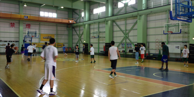 BREXバスケットボールコート