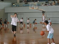 バスケットボールクリニック