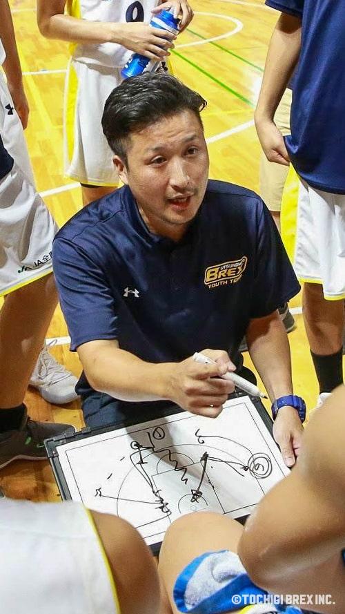 U18ヘッドコーチ 荒井尚光
